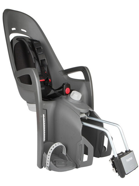 Hamax Zenith Relax Kindersitz Rahmenrohr grau/schwarz